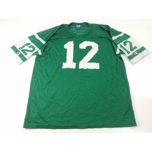 New York Jets 12 NFL Football Jersey Vintage 90s